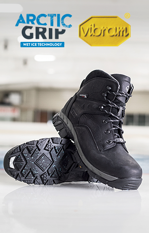 Vibram - Arctic Grip Wet Ice Technology