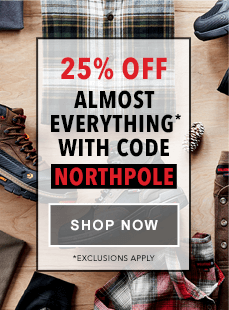 25% Off Almost Everything* with Code NORTHPOLE | Shop Now | *Exclusions Apply