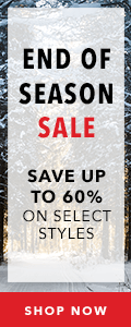 End of Season Sale | Save up to 50% on Select Styles | Shop Now