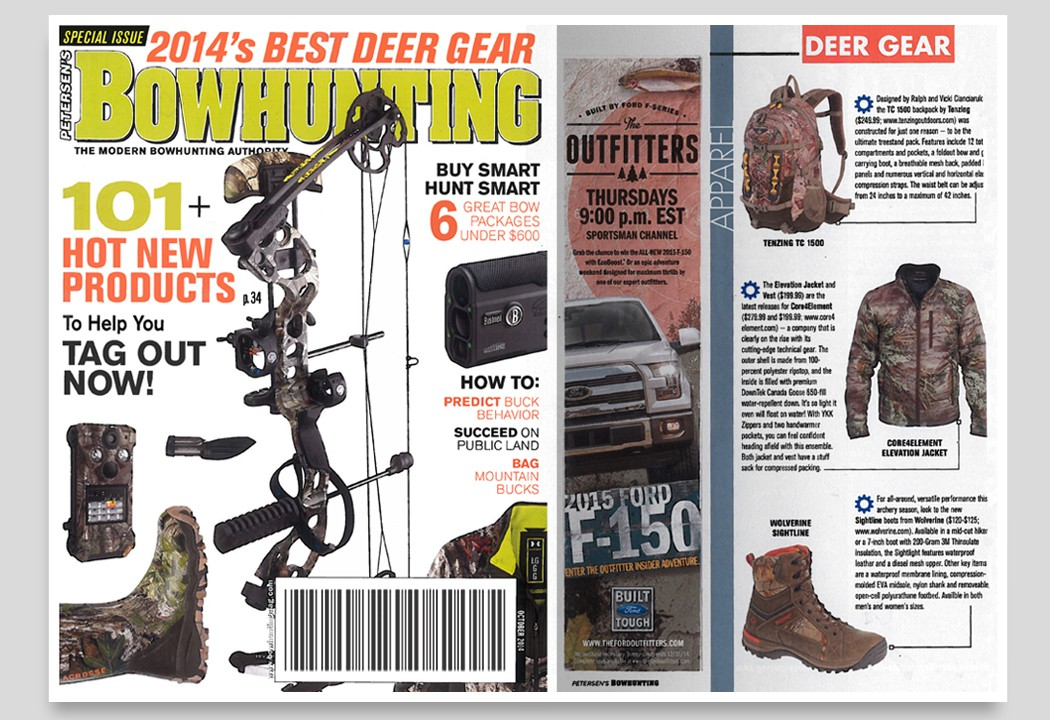 Wolverine Sightline Boots, Bowhunting