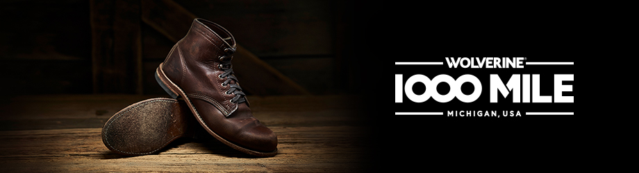 Mens 1000 Mile Boots