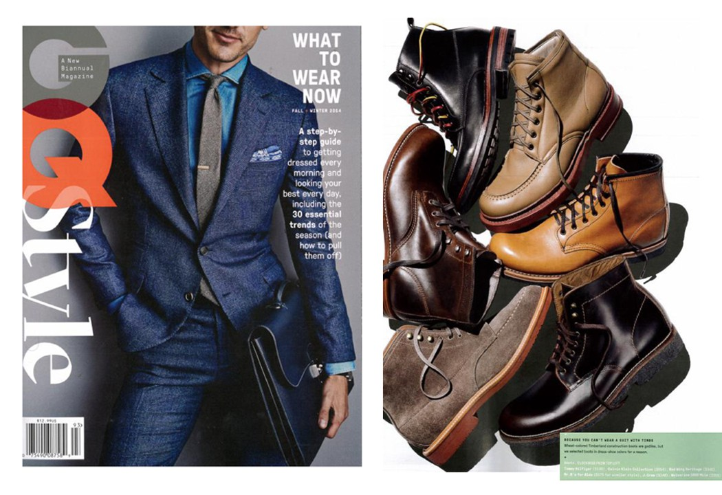 Wolverine 1000 Mile Boots, GQ Style