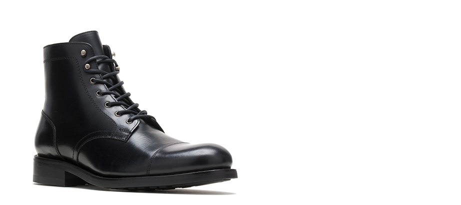 Wolverine BLVD Cap Toe in black