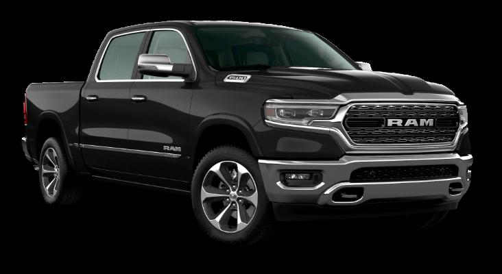 Black Ram Limited truck.