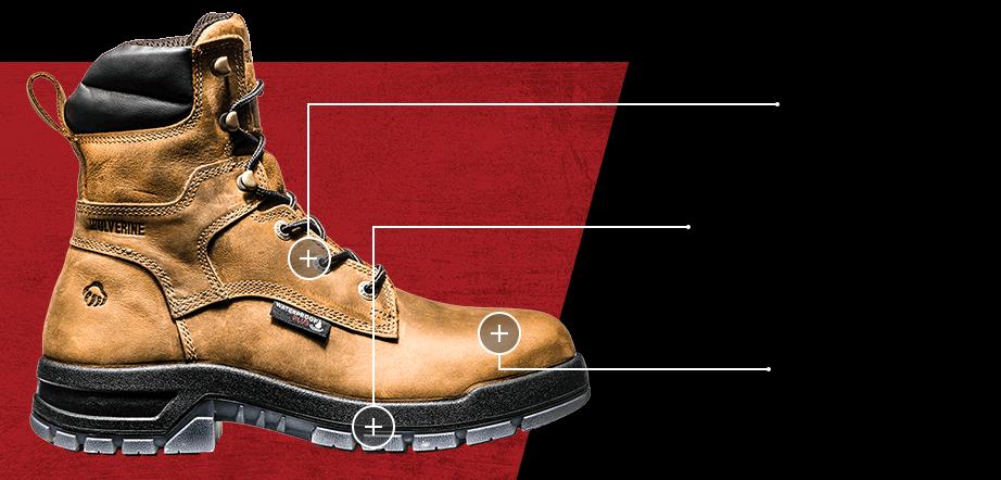 Wolverine Ramparts boot.