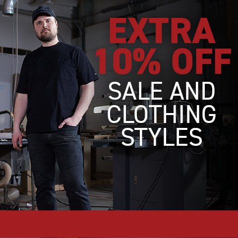 Extra 10% off Sale and clothing styles