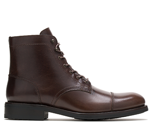 Plain Toe Brown Boot