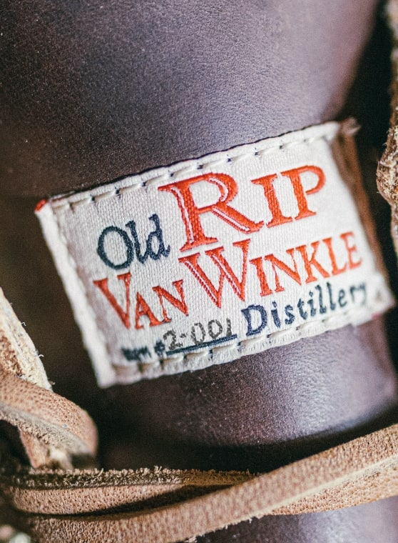 The tag of a 1000 Mile x Old Rips VanWinkle boot.