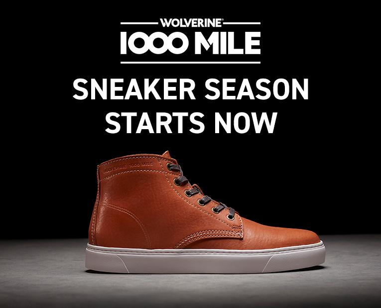 Sneaker Season Starts Now!
