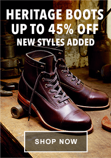 Heritage Boots Up to 45% Off | Shop Now