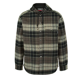 Bucksaw Bonded Shirt Jacket.