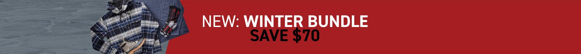 New winter bundle. Save $70.