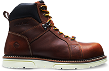 Wolverine I-90 DURASHOCKS WEDGE Boot in brown
