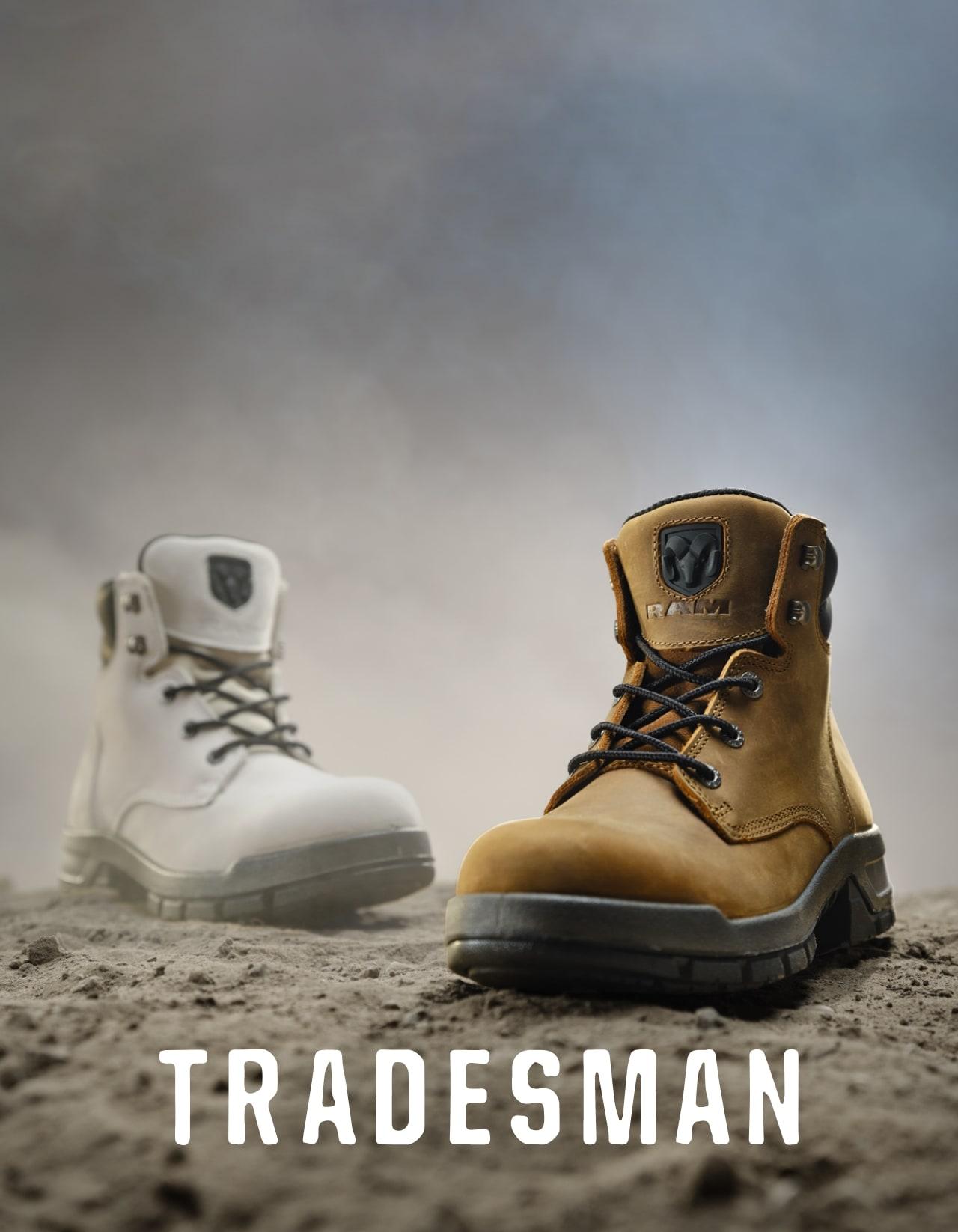 Wolverine x RAM collab Tradesman.