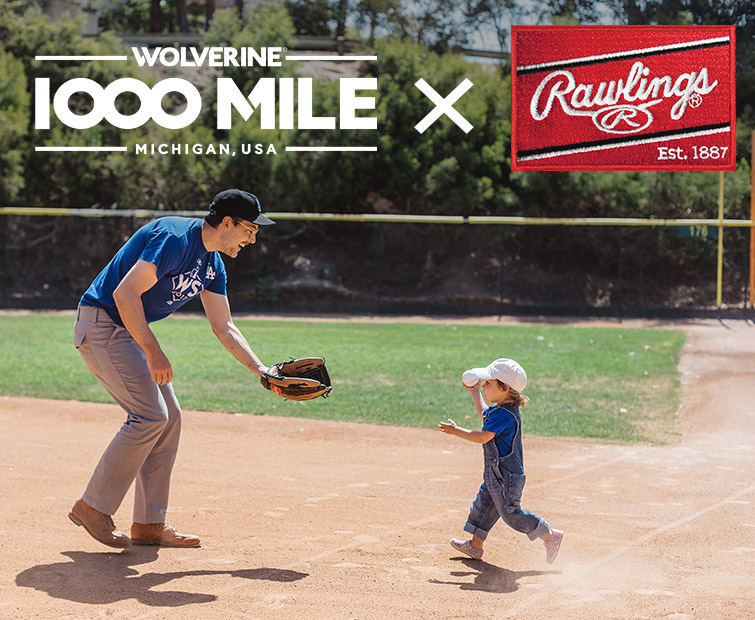 Wolverine 1000 mile and Rawlings.