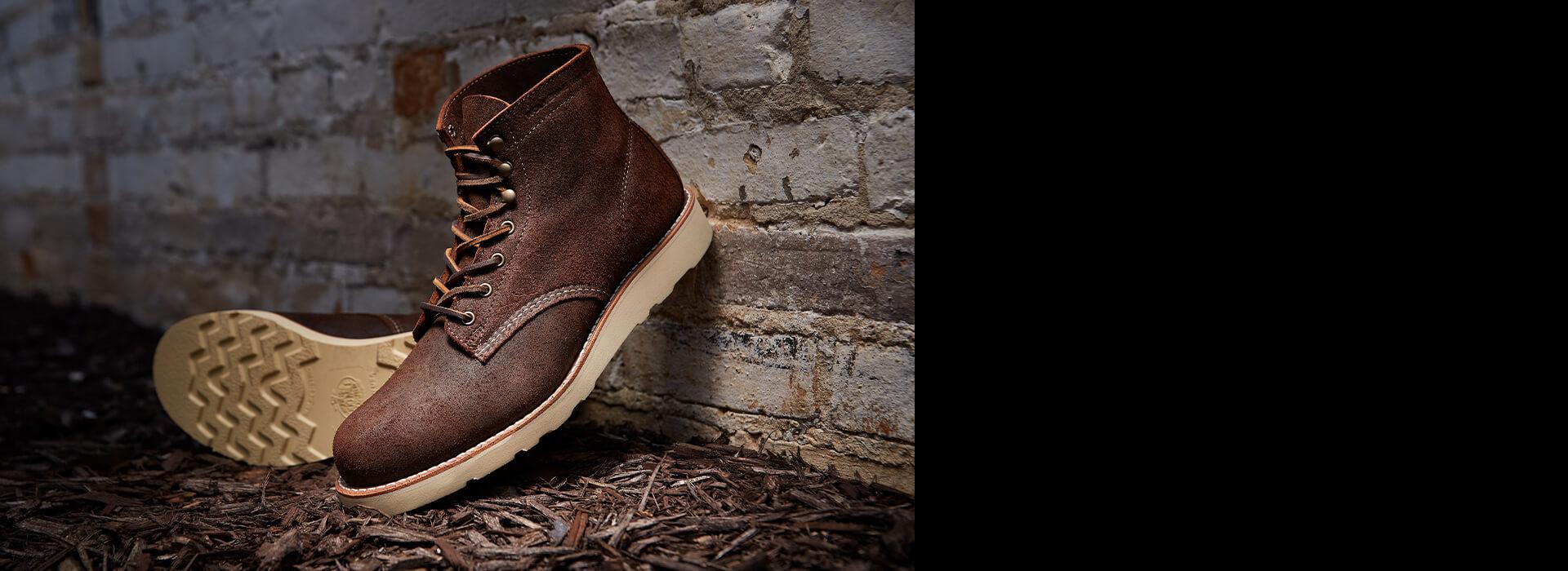 Wolverine Mulch boot.