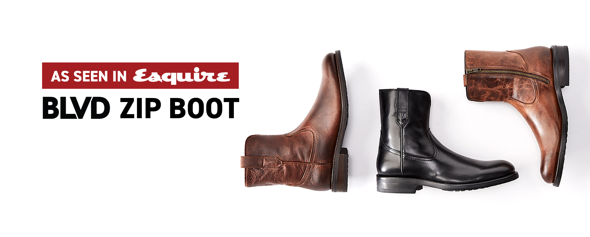 BLVD Zip Boot: As seen in Esquire magazine.