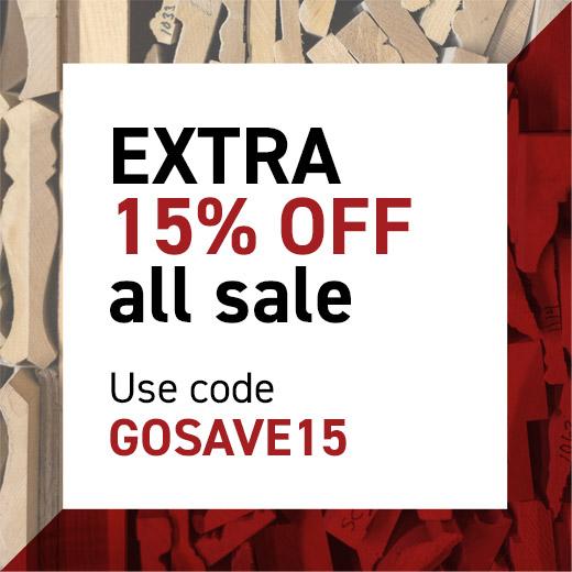 Outlet Sale GOSAVE15