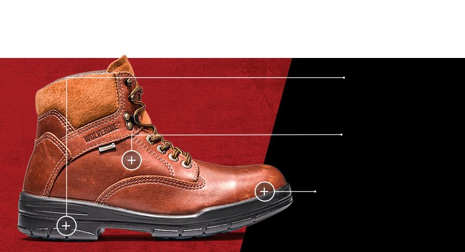 Men's Raider 6 inch boot.