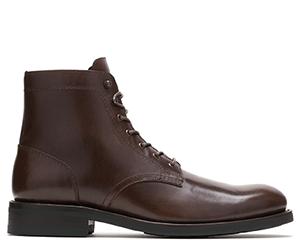 Plain Toe Brown Boot