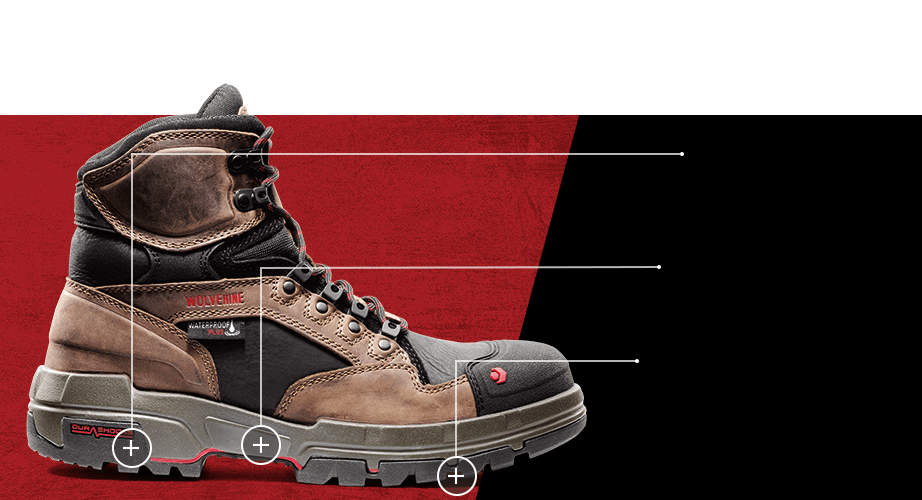 Men's Raider 6 inch boot.
