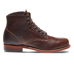 Brown Leather 1000 Mile Boot