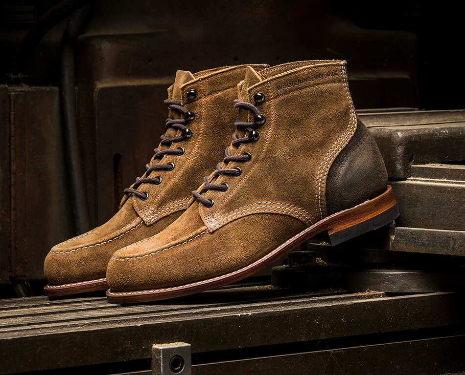 d123c9f537b How To Care For Wolverine 1000 Mile Boots | Wolverine