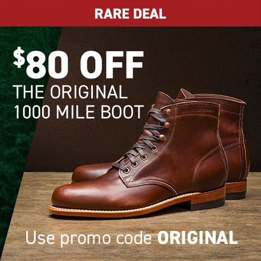 Wolverine 1000 Mile Original Boot