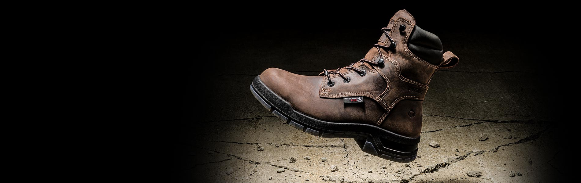 New wolverine USA w191050 Ramparts 8 inch Carbonmax brown waterproof work boot