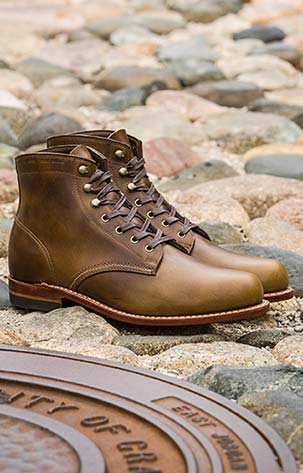 The Wolverine 1000 Mile Boot