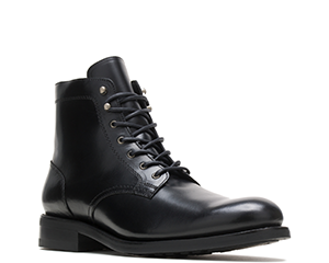 Plain Toe Black Boot