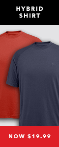 Hybrid Shirt | Now $19.99
