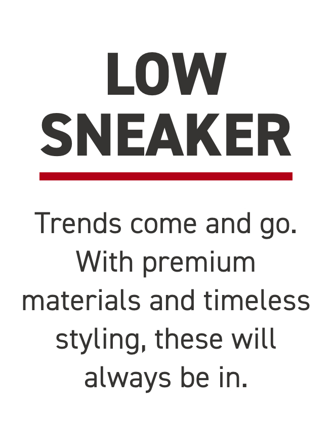 Trends come and go. With premium materials and timeless styling, these will always be in.