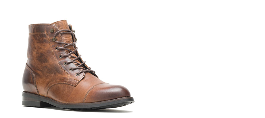 Wolverine BLVD Cap Toe in tan