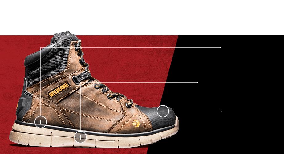 Men's Rigger boot.