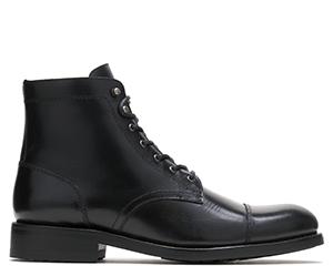 Plain Toe Black Boot