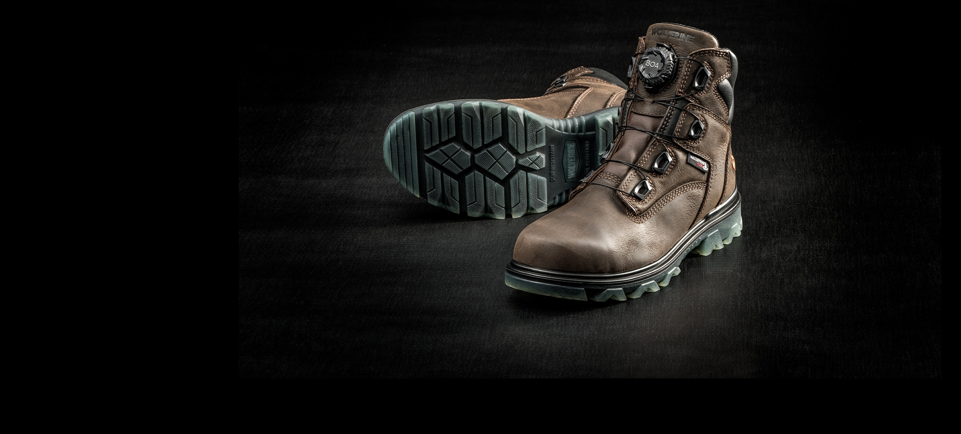 A pair of I-90 EPX boots with the Boa system