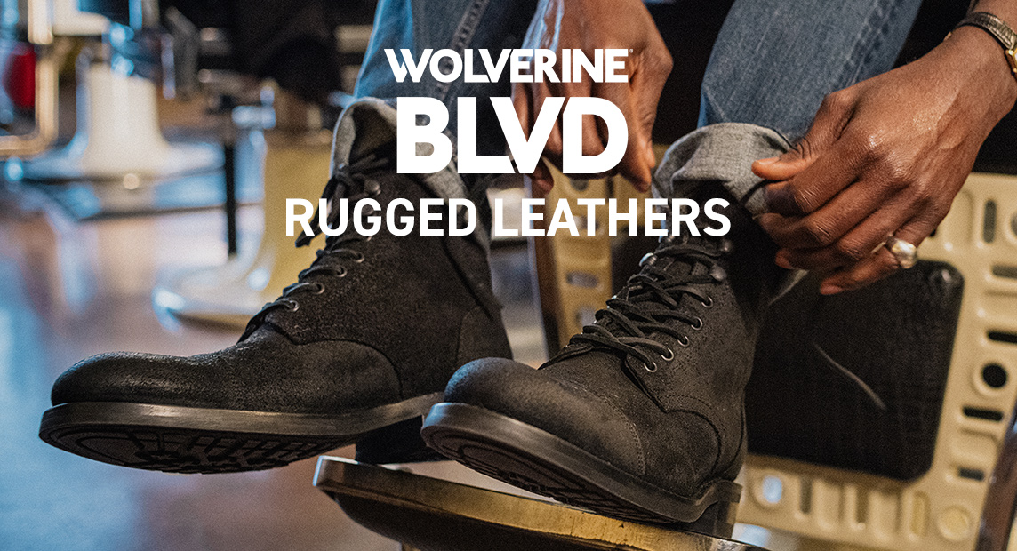 Handcrafted leather.